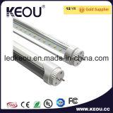 SMD2835 uno/lámpara bilateral del tubo de la entrada de información de potencia 600m m 900m m 1200m m 1500m m LED T8