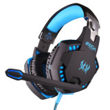 Jogo original Headphone de G2100 Hifi Stereo Wired com diodo emissor de luz Noice Cancelling