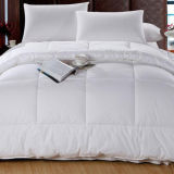 贅沢なポリエステルMicrofiberのホテルの寝具の綿の白の羽毛布団