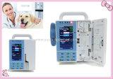 Pompe à perfusion vétérinaire de petite taille marquée de la CE portative
