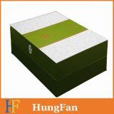 Rectángulo de regalo de papel impreso color del MDF para el cuidado de piel
