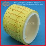 Contrassegno stampabile dell'indicatore &Cable del collegare Mt-Vlu