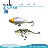 Attrait Lipless dur choisi de palan de pêche de l'eau de pêcheur premier avec Vmc les crochets triples (SLL150370)