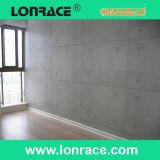 Feuerfester u. feuchtigkeitsbeständiger Faser-Kleber-bedecken dekorativer Wand-Vorstand, flach