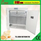 Precio automático de la máquina de la incubadora del huevo del pollo de la capacidad de 3168 huevos