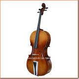 violoncelo da madeira compensada 4/4popular