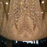 De decoratieve Aangepaste Kroonluchter van de Luxe van de Lamp van de Tegenhanger K9 Kristal