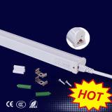 Luz quente T5 da câmara de ar do diodo emissor de luz da venda 12W com o excitador externo para a área pública