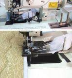Máquina de costura resistente da única agulha para o emperramento da tampa do fundamento