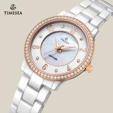 Montre-bracelet en céramique 71068 de mode de quartz