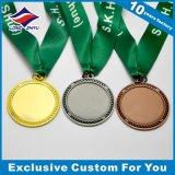 エポキシが付いている卸し売りブランク金属メダルロゴ