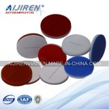Heißer Verkauf! PTFE/Silicone Septa für 2ml 9-425 HPLC Vial 100PCS/Pack