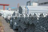 Calidad estable acero galvanizado en caliente de tuberías