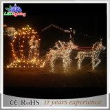 LEDのクリスマスの装飾ライト休日ライトクリスマスのカボチャ馬のCarraigeライト