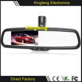 4.3 монитор зеркала Rearview автомобиля индикации СИД дюйма DC12V дюйма 5 автоматический для автомобилей