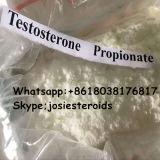 筋肉建物のテストステロンCypionateのためにCypioの同化ステロイドホルモンの白い粉をテストしなさい
