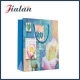 Retro Serie mit Lotos-Blumen-kaufenträger-Geschenk-Papierbeutel