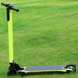 Grüner Kind-Spielzeug-Lithium-Batterie-faltender Kohlenstoff-Faser-elektrischer Roller