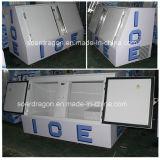 氷のための直接冷却の氷の冷却装置によって袋に入れられる氷の収納用の箱