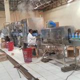 Água/Aqua puros de Monoblock que enxágua a máquina tampando de engarrafamento