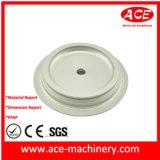 Pieza de maquinaria de aluminio de la precisión