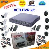 8 канал 700tvl освобождает систему CCTV средства программирования Cms