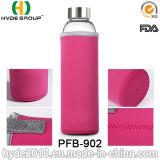 bottiglia di acqua calda del Juicer del limone 700ml, bottiglia di vetro popolare di infusione della frutta (PFB-902)