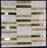 Color mezclado mosaico de piedra para la decoración (FYSM086)