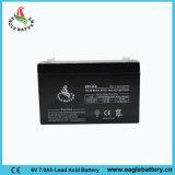batteria acida al piombo sigillata 7ah di 6V Mf per il motorino elettrico