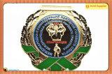 Turnirメダル65mm*98mmブランク裏側メダル円形浮彫り(JINJU16-066)