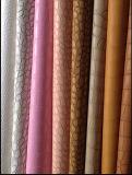 Crocodilo Matte de couro sintético falsificado do plutônio da série popular para o couro do vestuário (HS-ZR1)