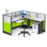 Moderner 3 Sitzbüro-Partition-Zelle-Arbeitsplatz (SZ-WST657)