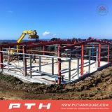 2016倉庫のための低価格の鉄骨構造を組立て式に作った