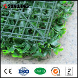 Fire Resistantの庭のDeocrホームGreenery PVC Artificial Grass Fence
