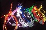 (Промотирование) 2015 с Рождеством Христовым для Kids Gift СИД Colored Shoe Lace/LED Shoelaces с Battery/Light вверх