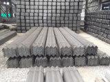 Barra de ângulo de aço padrão de JIS para o material de construção
