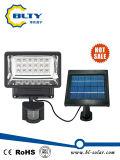 18의 LEDs 태양 에너지 탐지 램프