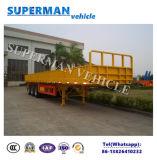 semi Aanhangwagen van de Vrachtwagen van het Pakhuis van het Compartiment van 13m Flatbed