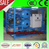 Épurateur de pétrole de bonne qualité de transformateur de Double-Étape, filtration de pétrole de vide