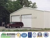Capannone della struttura d'acciaio, garage