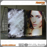 Aluminium-freies stehendes Textilheller Kasten