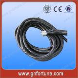 Гибкие спиральные трубки PVC покрытые стальные