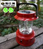 4V2W DEL Camping Lantern/Lighting avec Solar, USB &Mobile Charging, Portable DEL Solar Camping Light, Solar Lantern Camp Lights, Hanging Camping Hiking Lantern