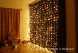 عيد ميلاد المسيح شلال يشعل ستار [لد] زخرفة ضوء