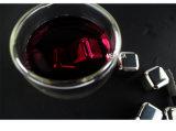 Кубик льда камней вискиа Barware нержавеющей стали 304