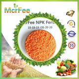2016 fertilizzante solubile in acqua dell'azoto di alta qualità NPK +Te 20-20-20 alto