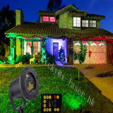 Chuveiro quente do laser da estrela da luz da decoração do Natal da luz da venda