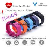 Het slimme Horloge hoort de Manchet van Bluetooth van de Drijver van de Geschiktheid van het Tarief voor Ios en Androïde Slim Horloge
