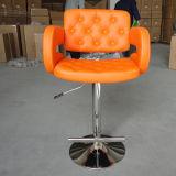 Assento ajustável de couro da barra do giro do plutônio das várias cores modernas (FS-B8258)