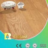 le parquet de noix de chêne de la planche HDF de vinyle de 8.3mm a ciré le plancher en bois en stratifié bordé
